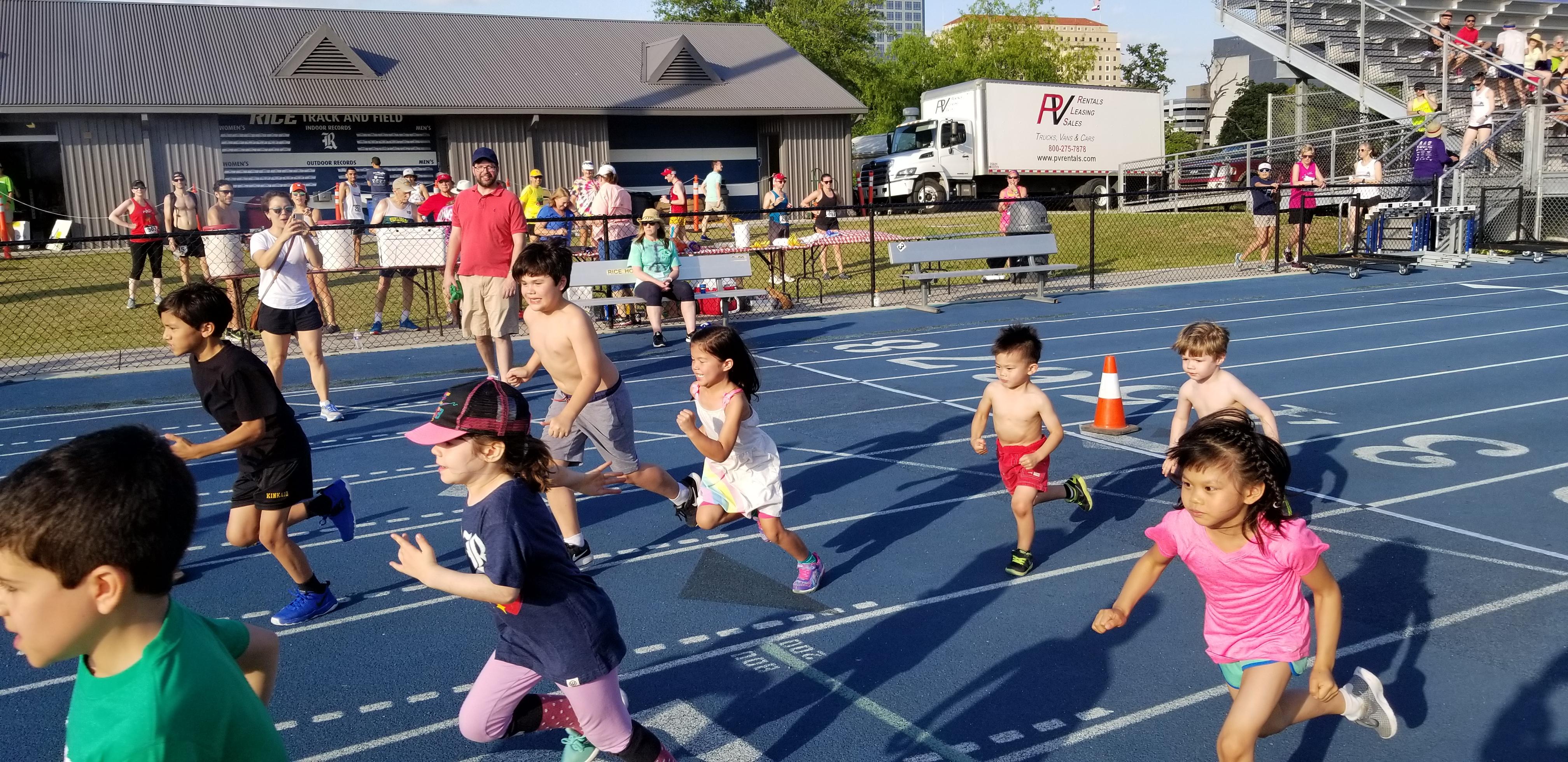LP Run 2019 Kids Race Underway